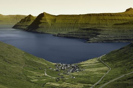 Beautiful scenery on the Faroe Islands