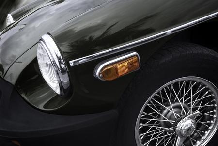 classics: Retro car - American classics