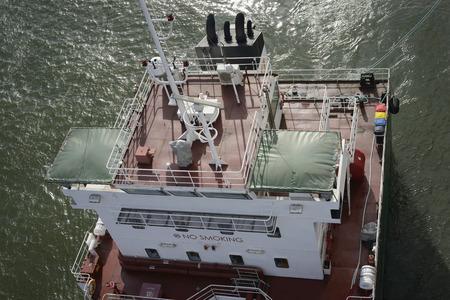 alongside: Refueling Operation at Sea. Alongside connected replenishment