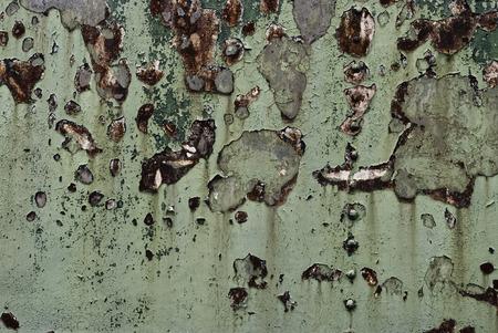 flickering: Parpadeo Grunge Antecedentes. Oxidado viejo del metal con los rasgu�os y las grietas. Foto de archivo