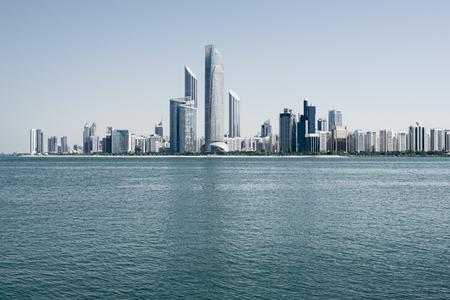 dhabi: Abu Dhabi skyline, United Arab Emirates