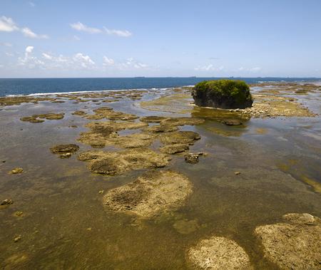 panama city beach: View of Panama coastline on the Pacific side