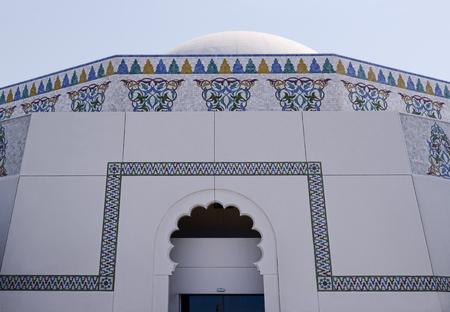 arabic architecture: Close up of Arabic Architecture. Stock Photo