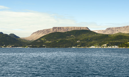 bonne: Bonne Bay, Gros Morne National Park, Newfoundland And Labrador, Canada Stock Photo