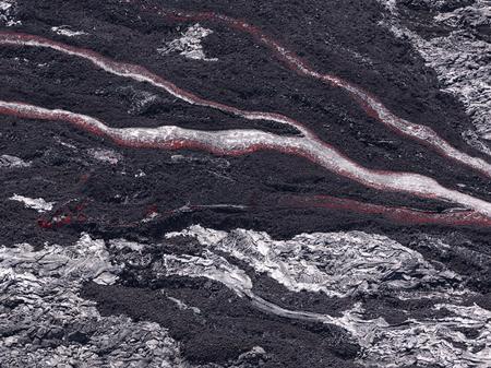 Lava flow at Hawaii Volcano National Park Фото со стока