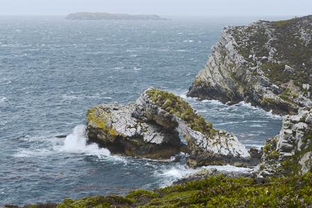 islas: The North East coast of East Falkland, Falkland Islands (Islas Malvinas)