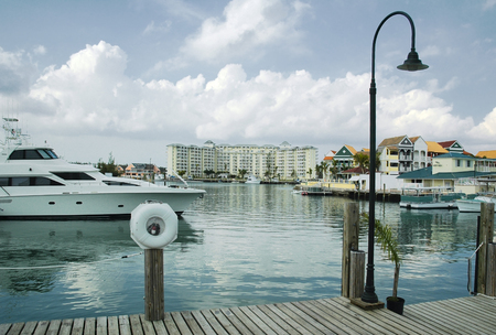 freeport: Marina and Water Front at Free Port, Grand Bahama