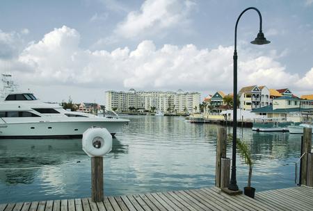 bahama: Marina and Water Front at Free Port, Grand Bahama