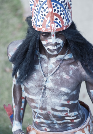 Los Tainos, the re-enactment of the original African slaves who were brought to the Dominican Republic and became part of the Dominican heritage.
