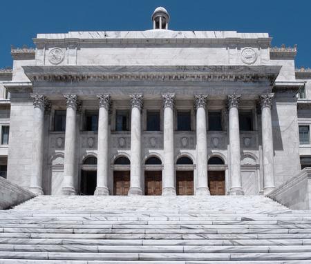 The Puerto Rico Capitol Government Building located near the Old San Juan historic area, Puerto Rico Archivio Fotografico