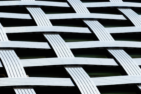 modern house: Abstract lines, fragmnet of a modern architecture building.