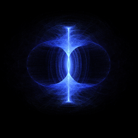 Zero point energy field, sustainable  high particle energy flow through a torus. Magnetic field, singularity, gravitational waves and spacetime concept.