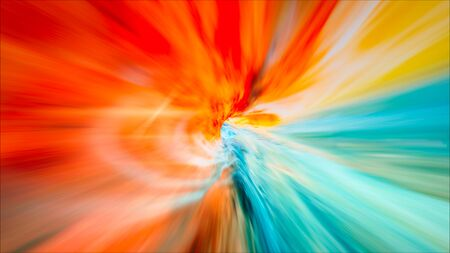 Wormhole Tunnel Or Energy Vortex. Singularity, Gravitational Waves And Spacetime Concept