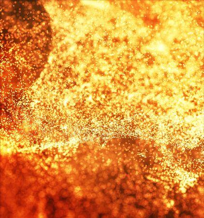 Hot Volcanic Magma, Lava Background