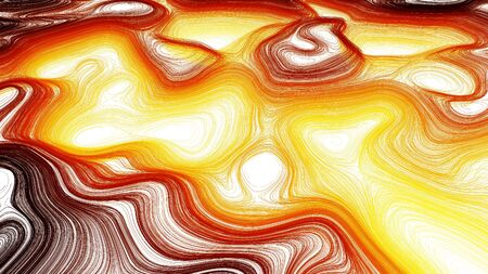 Swirly Fiery Background