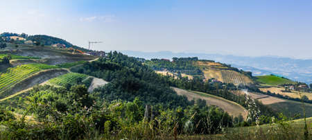 Countryside in Umbria Stock Photo