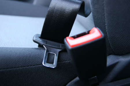 Not fastened car seat belt