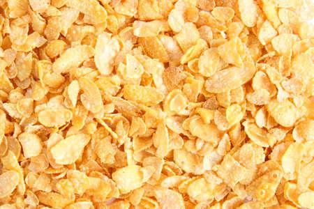 corn flakes: Flocons de ma�s d'arri�re-plan Banque d'images