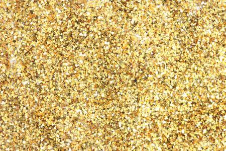 noone: Many festive golden decoration pieces background Stock Photo