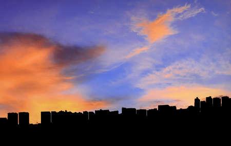 Summer Skies, Clouds and Buildings - Summer Skies, Clouds and Buildings, (Quito, Ecuador)