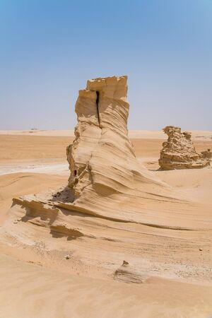 fossil dunes, Abu Dhabi Emirate, UAE, Al Wathba