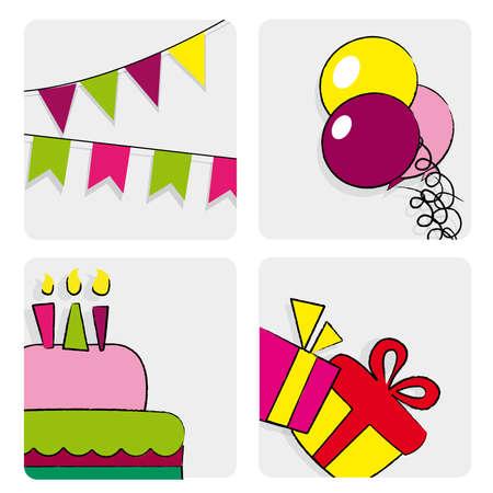 verjaardag vol met details