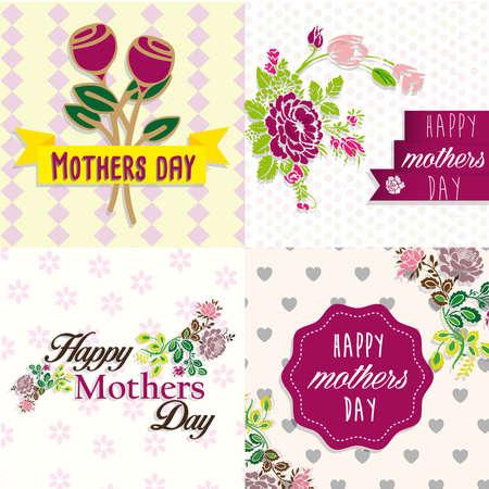 mom banners days Vector