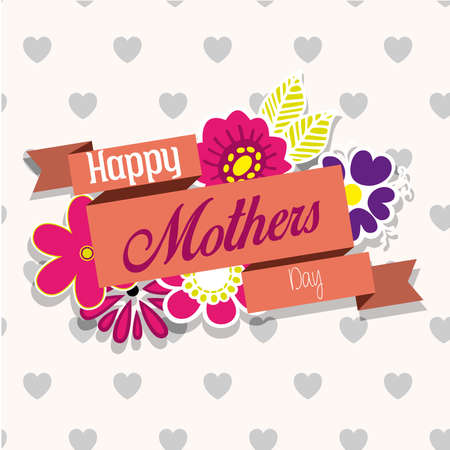 happr mother day Vector