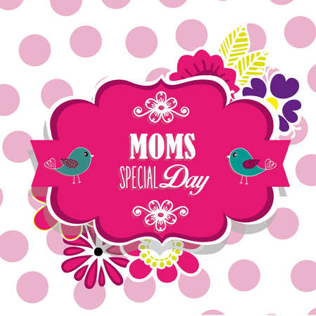 Moms special day Vector