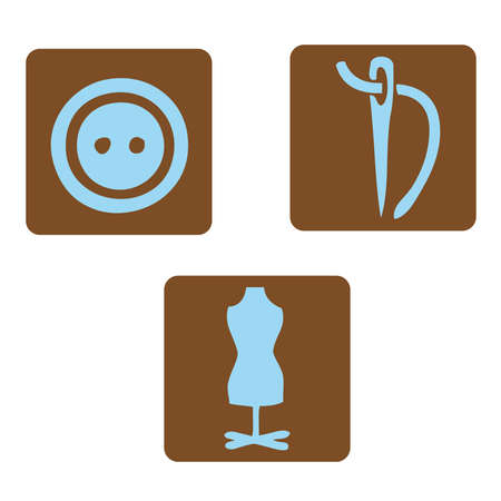 signposted: Textile icons