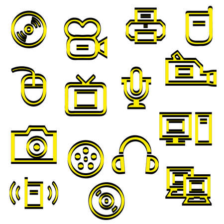 assign: Media icons