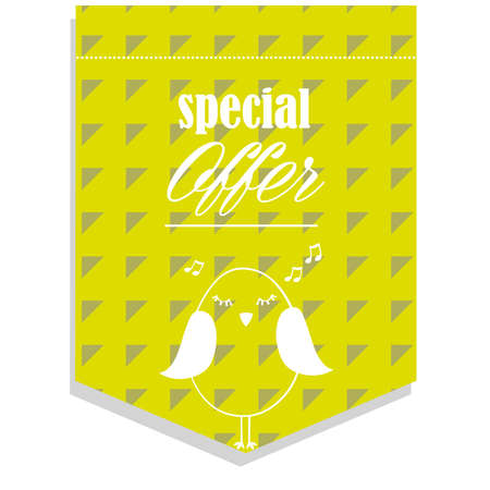 redeem: special offer Illustration