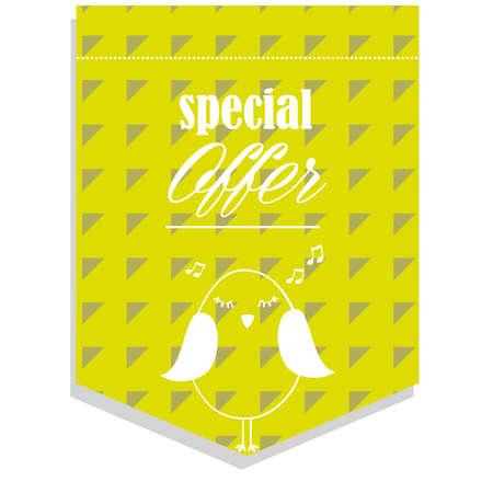 40 s: special offer Illustration