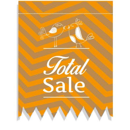 Total sales discounts Illustration