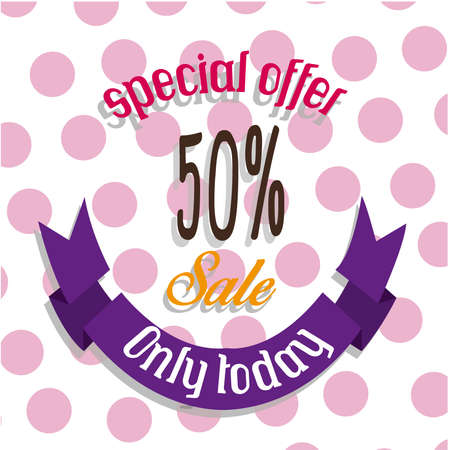 40 s: just for today 50% sale