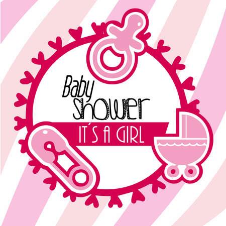 baby shower nia Vector