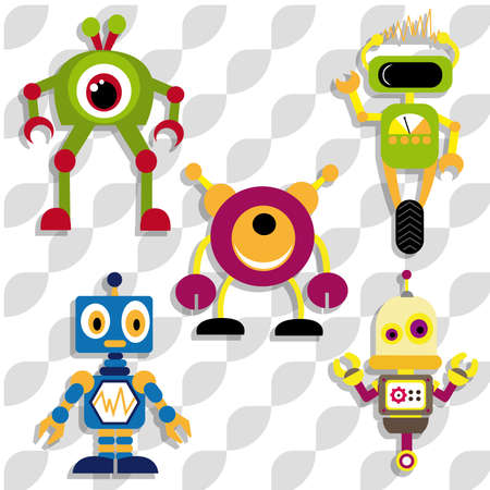 robots Ilustração