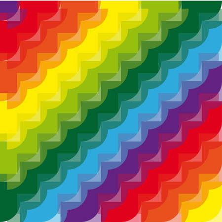 cicles: Abstract rainbow background