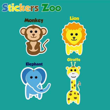 Zoo Sitckers