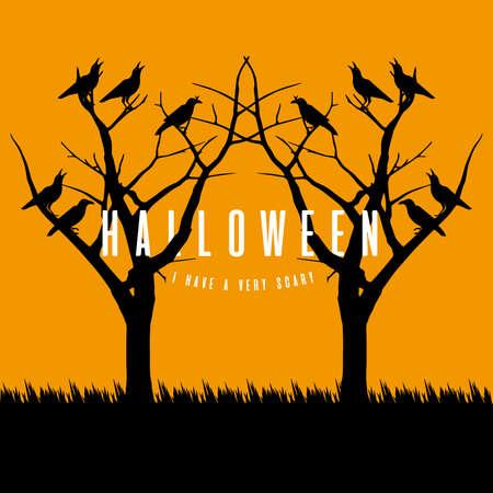 hallowen illustratie