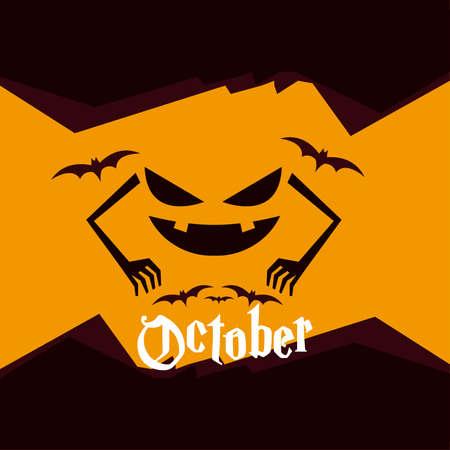 Halloween illustratie