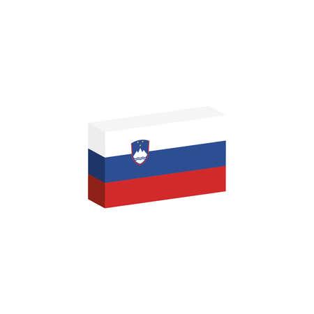 3D-vlag van Slovenië