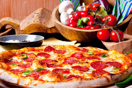 pizza: Mexicana de Pizza caliente