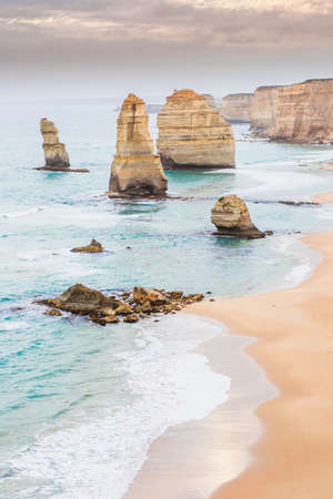 Twelve Apostles in sunset, Great Ocean Road, Victoria Australia