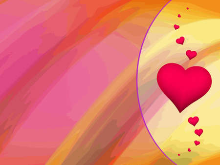 base for lovely thinks background valentine greeting card Vector