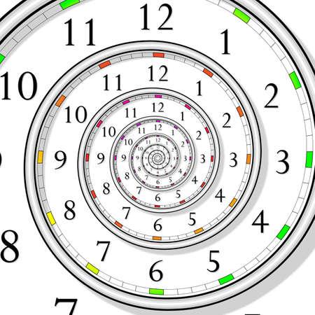 signo infinito: reloj de tiempo infinito