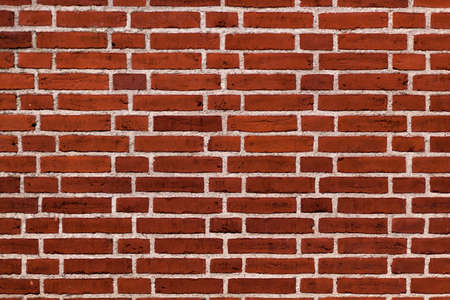 enviroment: Red brick wall background structure, surface texture in urban enviroment