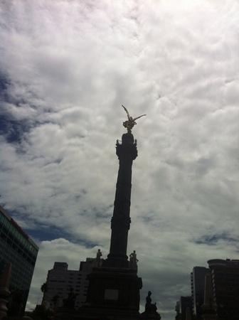 angel de la independencia: Ángel de la Independencia en México Foto de archivo