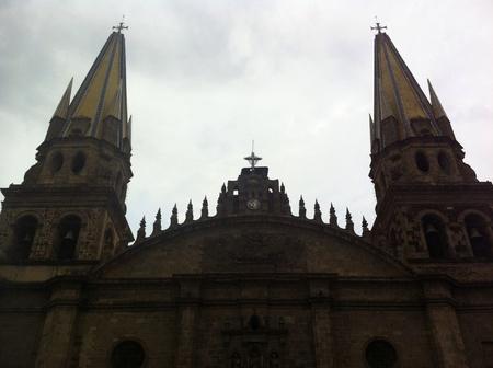 guadalajara: Guadalajara cathedral Stock Photo