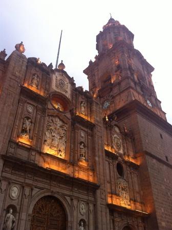 Morelia cathedral Imagens